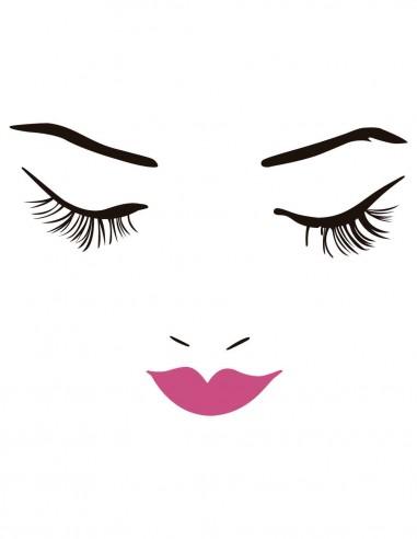 vinilos decorativos para estéticas y salones de belleza